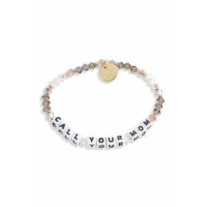 Pro-Ject Women's Little Words Project Call Your Mom Beaded Bracelet