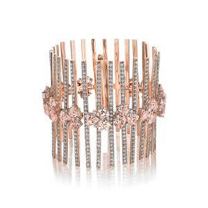 Hueb Women's Hueb Mirage Diamond Cuff Bracelet