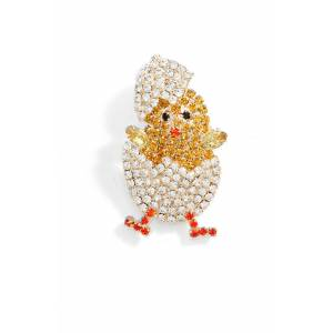 CRISTABELLE Women's Cristabelle Make Way For Ducklings Pin