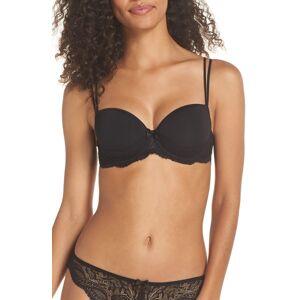 Simone Perele Women's Simone Perele Eden 3D Underwire Demi Bra, Size 32F - Black