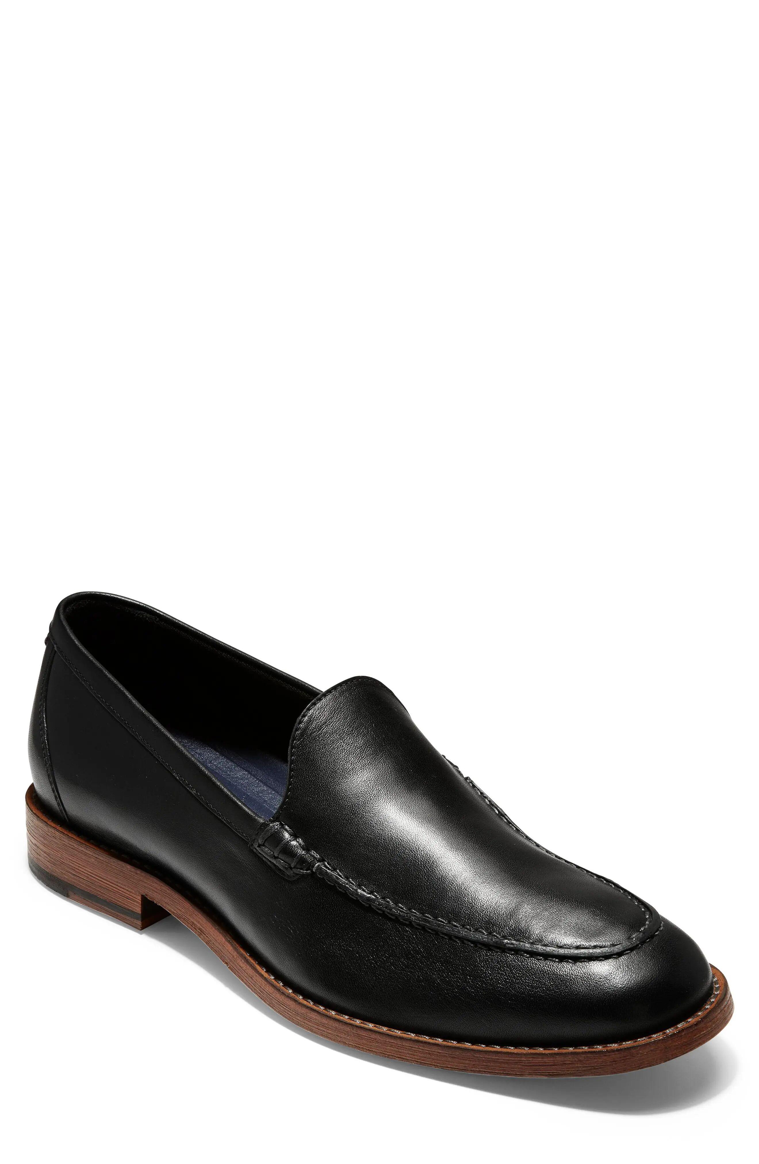 Cole Haan Men's Cole Haan Feathercraft Grand Venetian Loafer, Size 11 M - Black