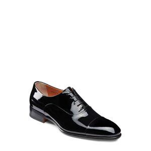 Santoni Men's Santoni Isaac Cap Toe Oxford, Size 10.5 D - Black