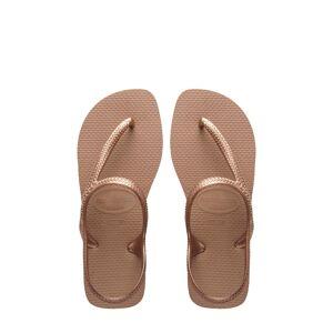 Havaianas Women's Havaianas Flash Urban Sandal, Size 37/38 - Metallic