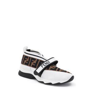 Fendi Women's Fendi Rockoko Knit Sneaker, Size 10.5US - White
