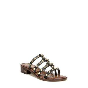 Sam Edelman Women's Sam Edelman Juniper Studded Gladiator Slide Sandal, Size 7 M - Black