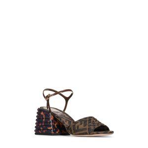 Fendi Women's Fendi Promenade Block Heel Sandal, Size 6US - Brown