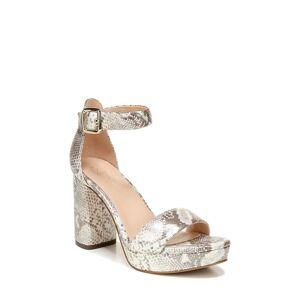 27 Edit Women's 27 Edit Briar Platform Sandal, Size 6 M - Grey