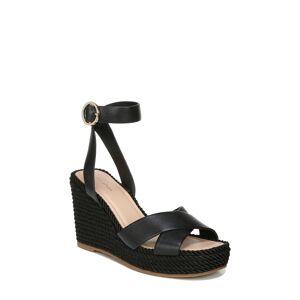 Via Women's Via Spiga Sesilia Platform Wedge Sandal, Size 8.5 M - Black