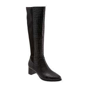 Trotters Women's Trotters Kirby Knee High Boot, Size 8.5 Regular Calf W - Black