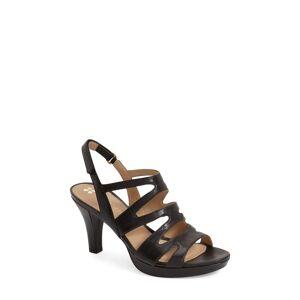 Naturalizer Women's Naturalizer 'Pressley' Slingback Platform Sandal, Size 9.5 W - Black