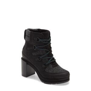 SOREL Women's Sorel Blake Waterproof Lace-Up Boot, Size 9 M - Black