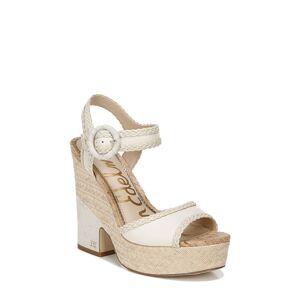 Sam Edelman Women's Sam Edelman Lillie Platform Sandal, Size 9.5 M - White