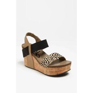 OTBT Women's Otbt 'Bushnell' Wedge Sandal, Size 8.5 M - Brown