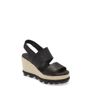 SOREL Women's Sorel Joanie Ii Slingback Platform Wedge Sandal, Size 10 M - Black
