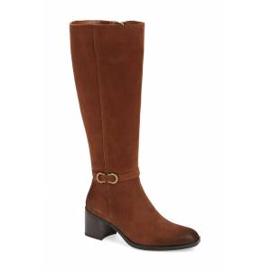 Naturalizer Women's Naturalizer Sterling Knee High Boot, Size 10 Wide Calf M - Brown