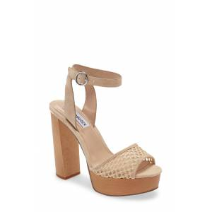 Steve Madden Women's Steve Madden Mckinley Platform Block Heel Sandal, Size 7.5 M - Beige