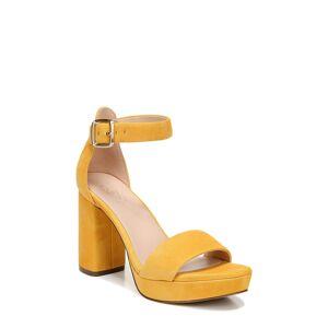 27 Edit Women's 27 Edit Briar Platform Sandal, Size 9 M - Yellow