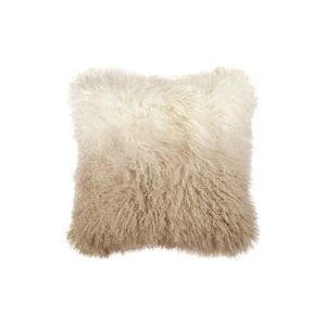 Michael Aram Dip Dye Sheepskin Accent Pillow, Size One Size - Metallic