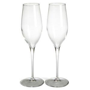 Luigi Bormioli Luigi Bormiolo Vinea Prosecco Set Of 2 Champagne Flutes, Size One Size - White