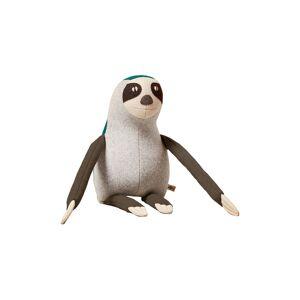 Goodee X Carapau Ned The Brown Throated Sloth Stuffed Animal