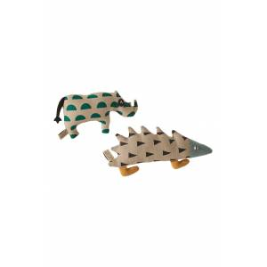 Goodee X Carapau Set Of 2 Stuffed Animals