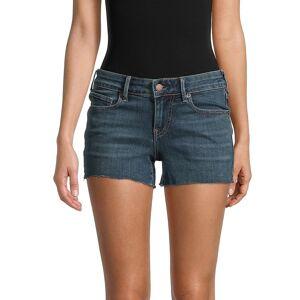 True Religion Women's Cut-Off Denim Shorts - Nothin On - Size 32 (10-12)  Nothin On  female  size:32 (10-12)