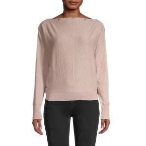 Allsaints Women's Elle Boatneck Sweater - Whisper Pink - Size S  Whisper Pink  female  size:S