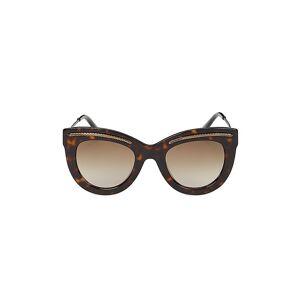 Bottega Veneta Women's 49MM Cat Eye Sunglasses - Brown  Brown  female  size:one-size