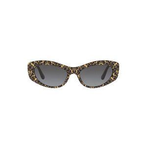 Dolce & Gabbana Women's Origin 53MM Cat Eye Sunglasses - Black Gold  Black Gold  female  size:one-size