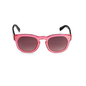 Dsquared2 Women's 50MM Round Sunglasses - Pink  Pink  female  size:one-size