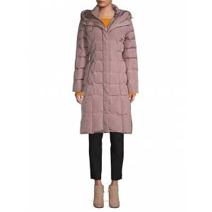 Cole Haan Hooded Puffer Coat  CARBON  Women  size:L