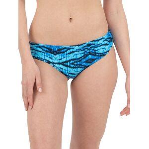 Nine West Women's Scoop Printed Bikini Bottom - Blue Tiger - Size XXL  Blue Tiger  female  size:XXL