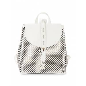 Furla Perforated Leather Backpack