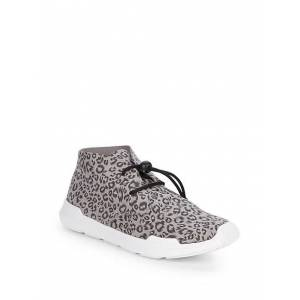Akid Little Girl's & Girl's Remington Leopard Drawstring Runners size: 6 (Child)[Not Applicable]; RED WHITE
