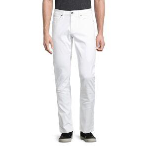 Ben Sherman Men's Slim Straight Jeans - White - Size 33 32  White  male  size:33 32