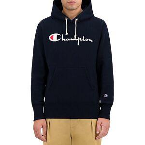 Champion Logo-Print Cotton-Blend Hoodie  BLACK  Men  size:M