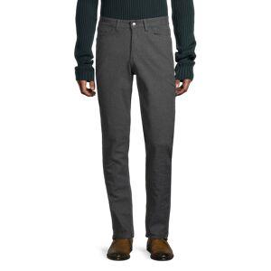Ben Sherman Men's Slim Straight Five-Pocket Pants - Odyssey Grey - Size 33 32  Odyssey Grey  male  size:33 32
