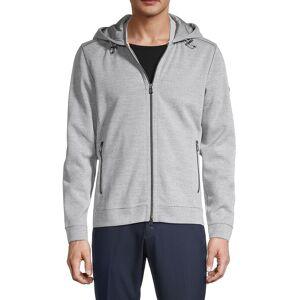 Bogner Men's Full-Zip Hooded Jacket - Grey - Size XXL  Grey  male  size:XXL