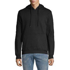 Eleven Paris Men's Basic Seamed Hoodie - Grey - Size S  Grey  male  size:S