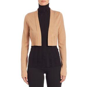 Derek Lam Women's Cashmere & Silk Cropped Cardigan - Grey - Size M  Grey  female  size:M