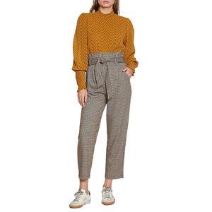 Walter Baker Women's Logan Pants - Caramel Tweed Multi - Size 6  Caramel Tweed Multi  female  size:6