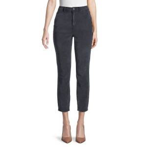 Free People Women's Fine Line Cropped Jeans - Black - Size 6  Black  female  size:6