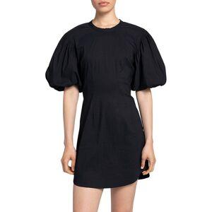 A.L.C. Women's Jessie Linen Dress - Black - Size 12  Black  female  size:12