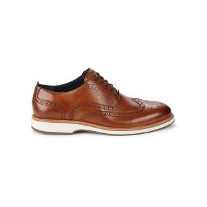 Cole Haan Men's Morris Wingtip Brogue Oxfords - British Tan - Size 11  British Tan  male  size:11