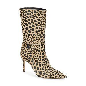 Giuseppe Zanotti Women's Animal-Print Calf Hair Booties - Tiger - Size 5  Tiger  female  size:5