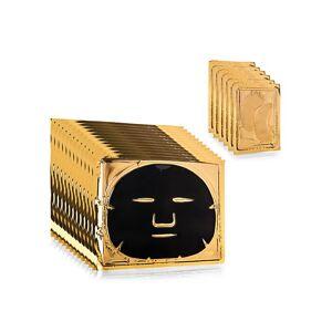 D24K Cosmetics 18-Piece Black Truffle Face & Eye Mask Set  NO COLOR  Women  size:One Size