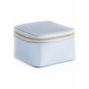 ROYCE New York Leather Travel Jewelry Case size: One Size[Not Applicable]; SILVER