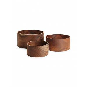 Be Home 3-Piece Acacia Round Nesting Bowl Set