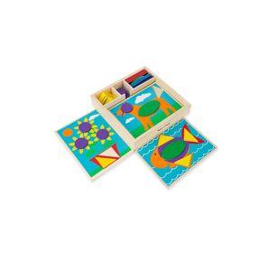 Melissa & Doug Beginner Pattern Blocks  neutral  female  size:one-size