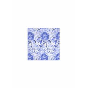 VIDA Wood Wall Art - 12x12 - Watercolor Rose Pattern 6 by VIDA Original Artist  - Size: Small